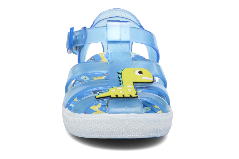 Sandales et nu-pieds Colors of California Jenny sandals DINO Bleu vue portées chaussures