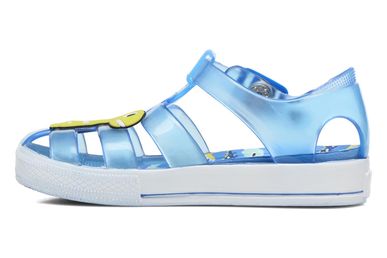 Sandales et nu-pieds Colors of California Jenny sandals DINO Bleu vue face