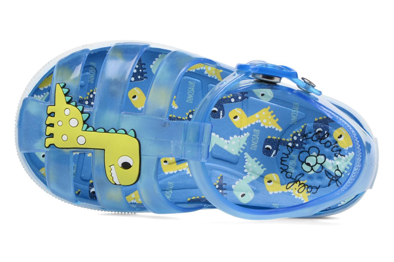 Sandales et nu-pieds Colors of California Jenny sandals DINO Bleu vue gauche