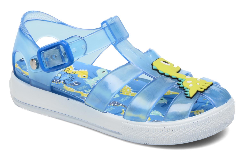 Sandales et nu-pieds Colors of California Jenny sandals DINO Bleu vue détail/paire
