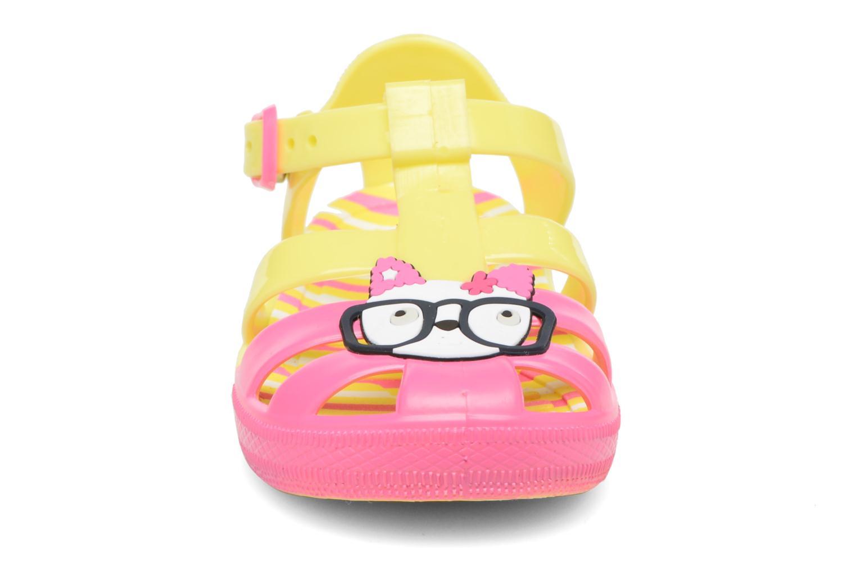 Sandales et nu-pieds Colors of California Jenny sandals CAT Jaune vue portées chaussures