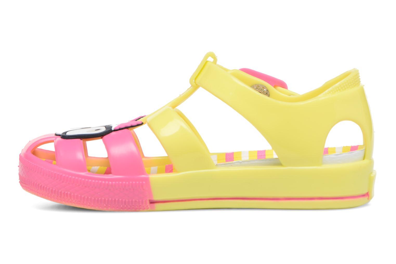 Sandales et nu-pieds Colors of California Jenny sandals CAT Jaune vue face