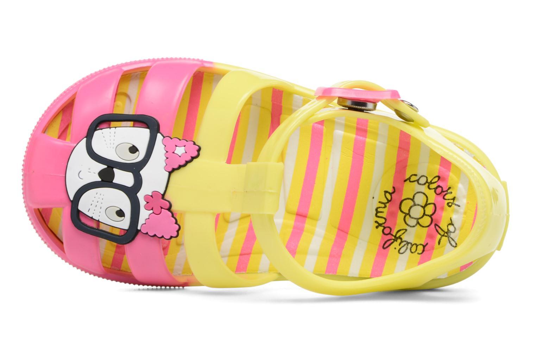 Sandales et nu-pieds Colors of California Jenny sandals CAT Jaune vue gauche