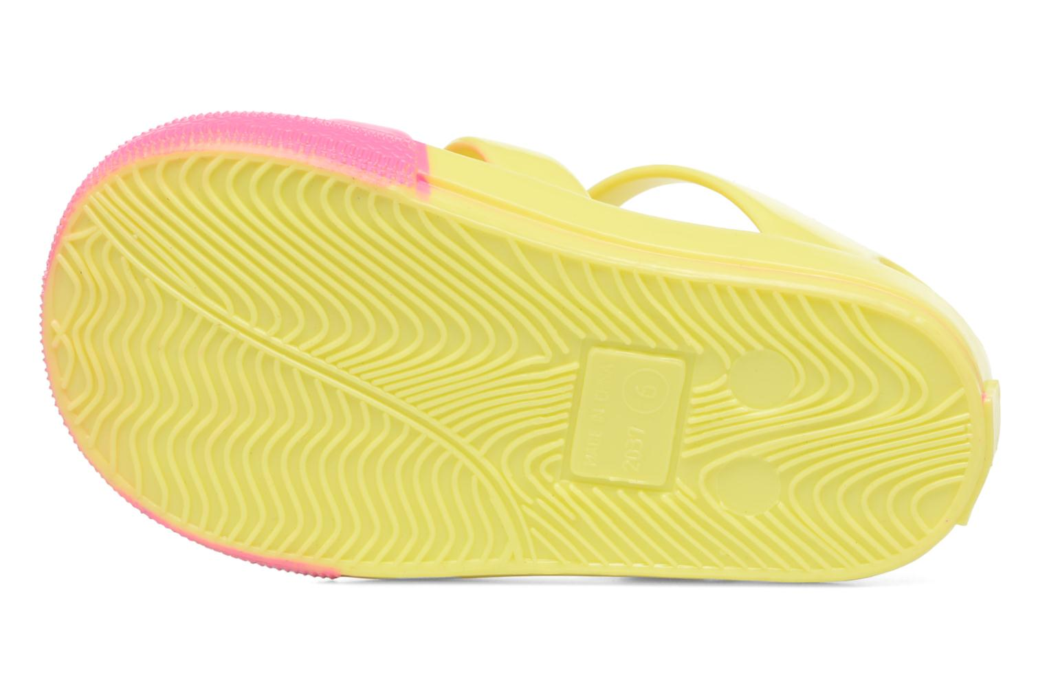 Sandalias Colors of California Jenny sandals CAT Amarillo vista de arriba