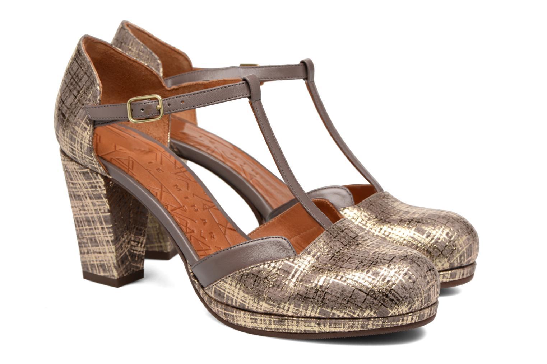 Sandals Chie Mihara Shogo Brown 3/4 view