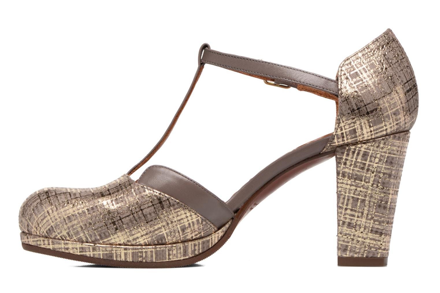 Sandals Chie Mihara Shogo Brown front view
