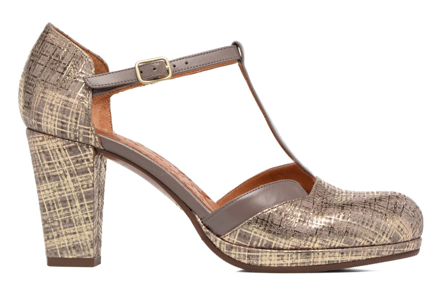Sandals Chie Mihara Shogo Brown back view