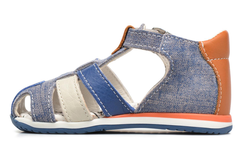 Sandaler Bopy Zinedine Blå se forfra