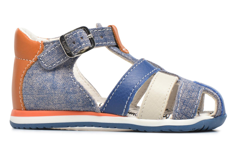 Sandaler Bopy Zinedine Blå se bagfra