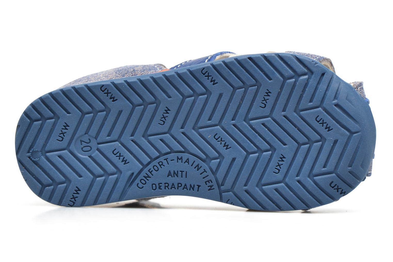 Sandalias Bopy Zinedine Azul vista de arriba