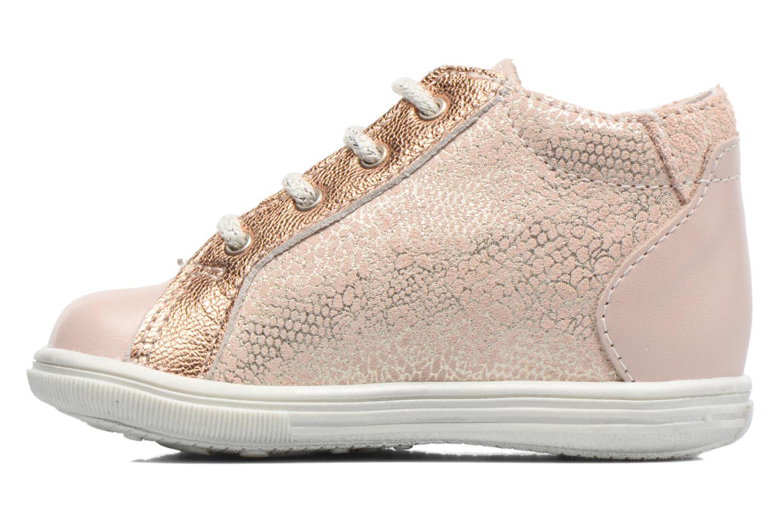 Zapatos con cordones Bopy Zental Rosa vista de frente