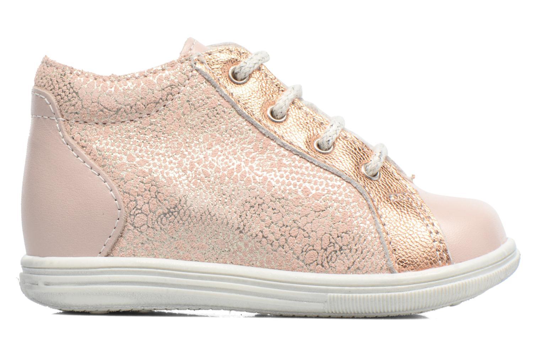 Zapatos con cordones Bopy Zental Rosa vistra trasera