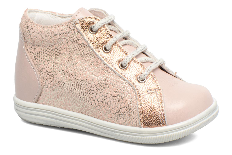 Zapatos con cordones Bopy Zental Rosa vista de detalle / par