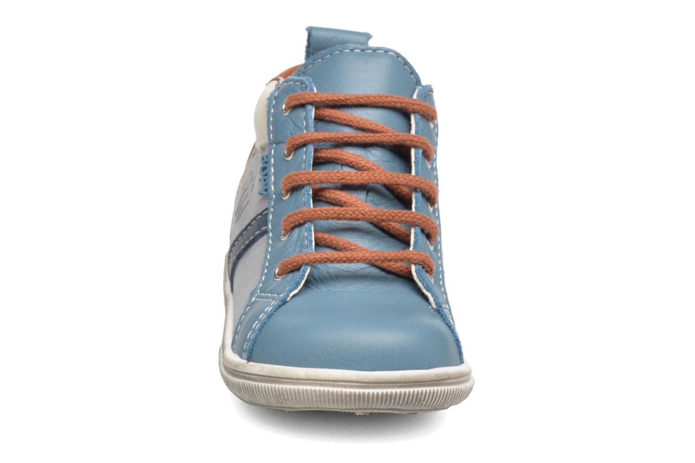Botines  Bopy Zoky Azul vista del modelo
