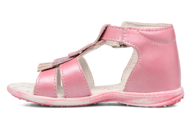 Sandales et nu-pieds Bopy Botica Rose vue face