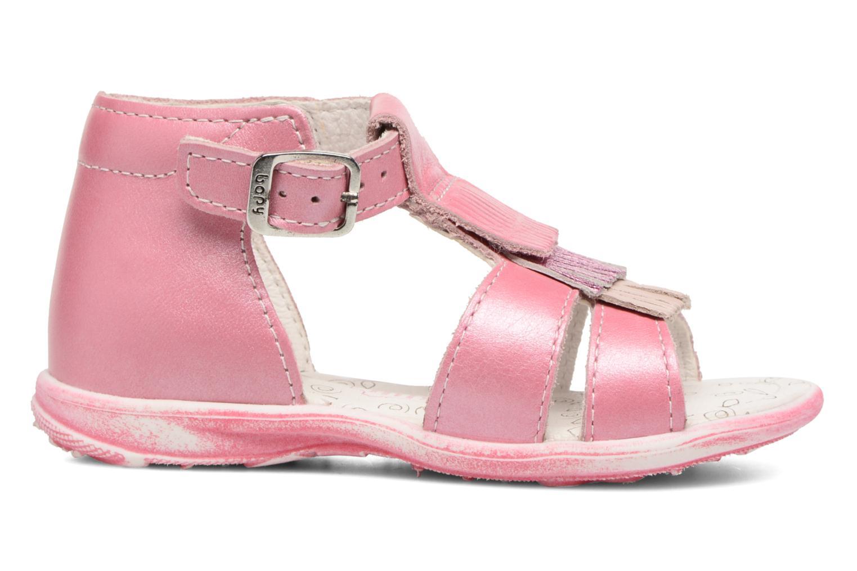 Sandales et nu-pieds Bopy Botica Rose vue derrière