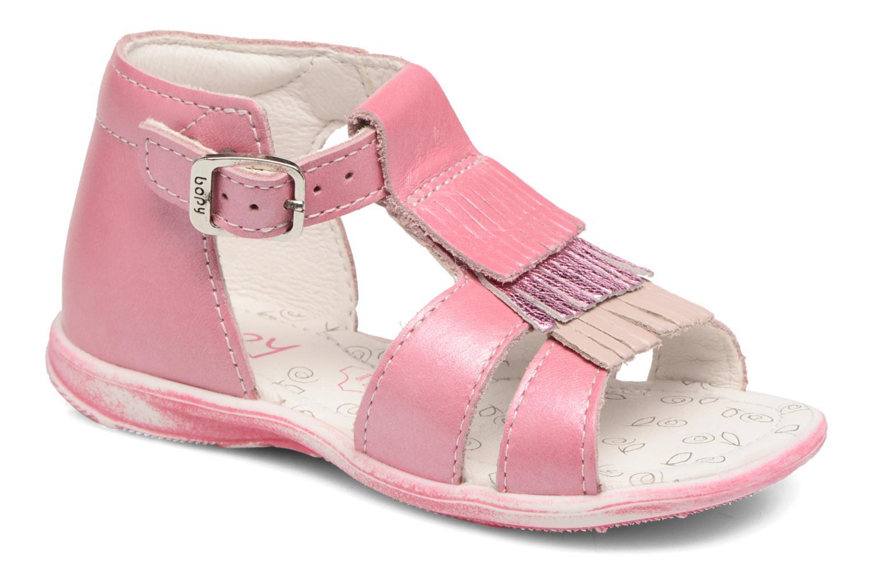 Sandales et nu-pieds Bopy Botica Rose vue détail/paire