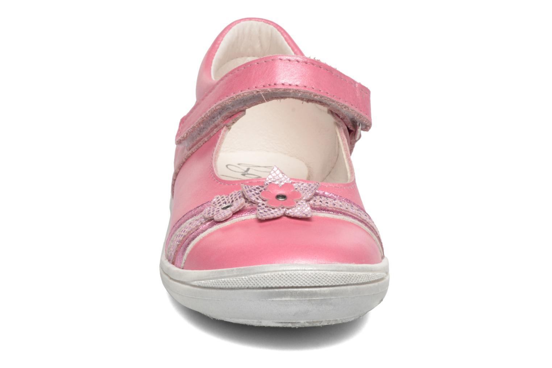 Ballerines Bopy Saghera Rose vue portées chaussures
