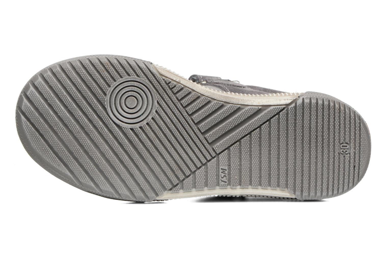 Zapatos con velcro Bopy Vadiso Gris vista de arriba