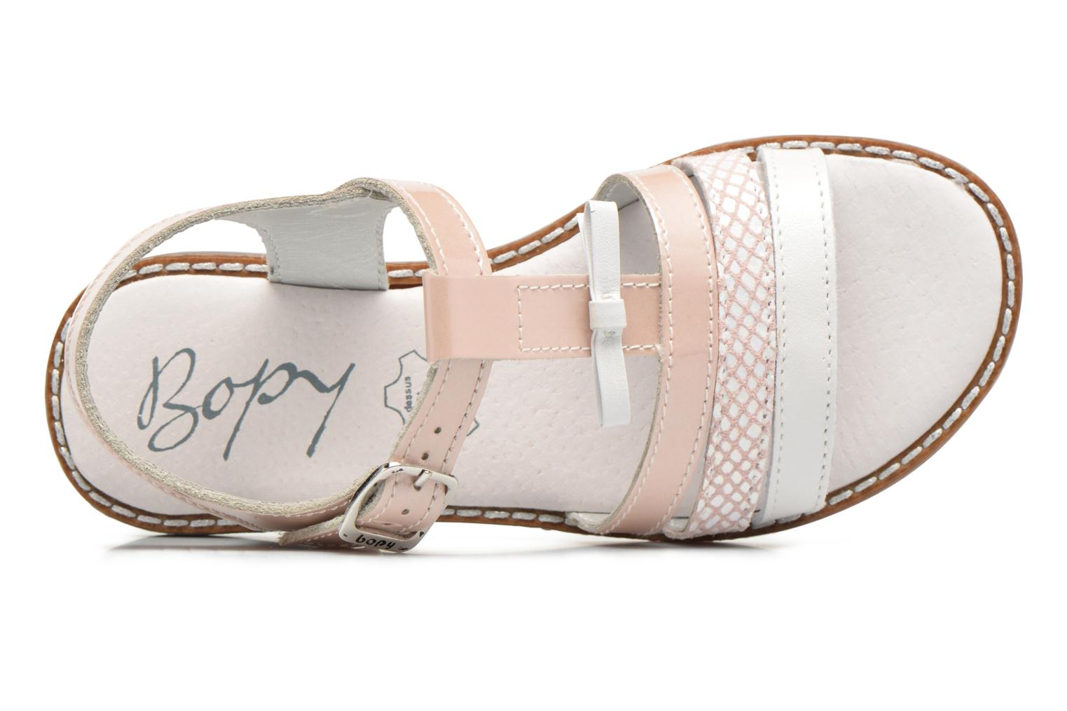 Sandalen Bopy Elvire Roze links