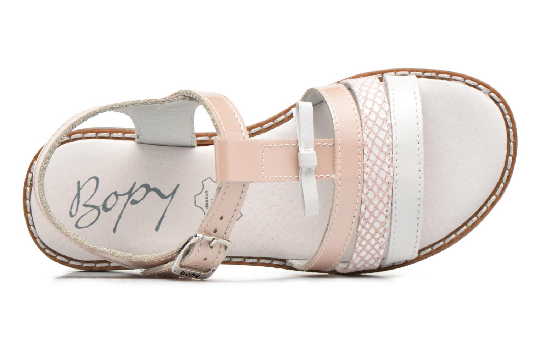 Sandali e scarpe aperte Bopy Elvire Rosa immagine sinistra
