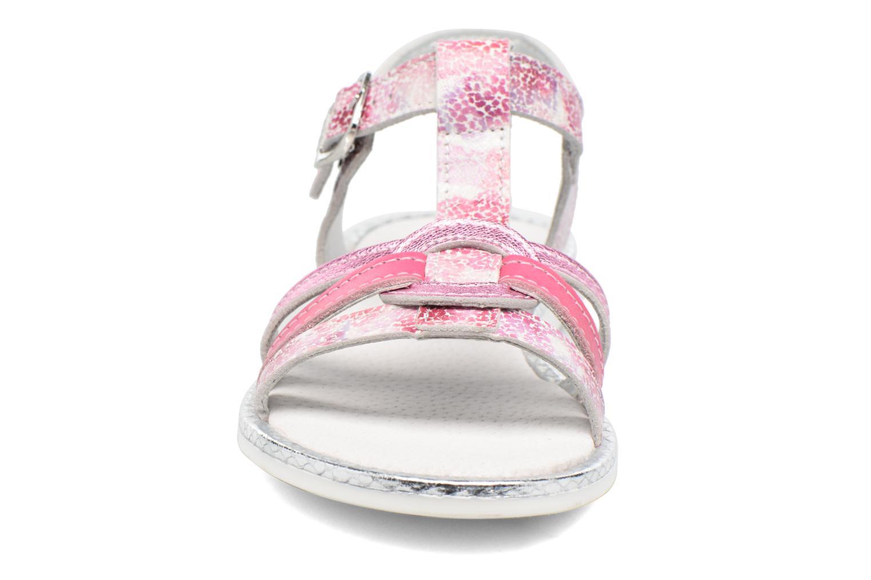 Sandales et nu-pieds Bopy Ernesta Rose vue portées chaussures