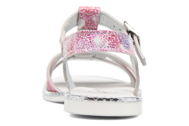 Sandales et nu-pieds Bopy Ernesta Rose vue droite