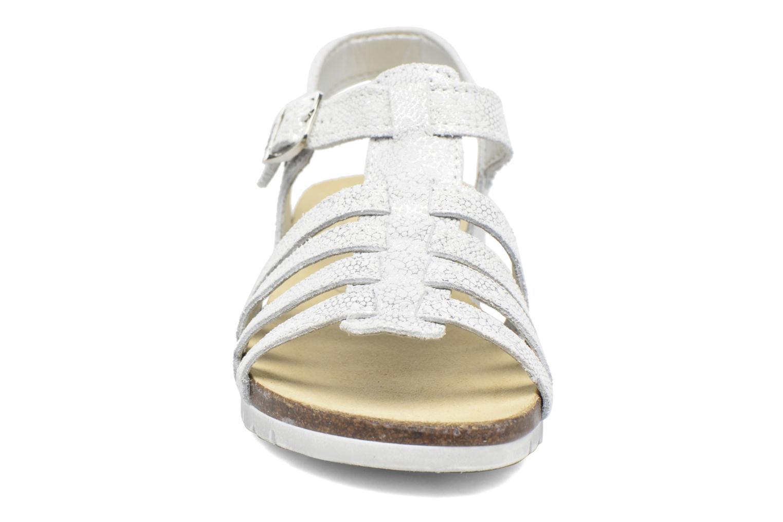 Sandales et nu-pieds Bopy Evali Argent vue portées chaussures