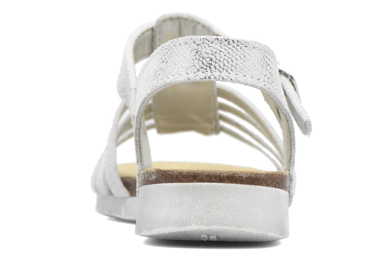 Sandales et nu-pieds Bopy Evali Argent vue droite