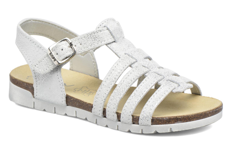 Sandales et nu-pieds Bopy Evali Argent vue détail/paire