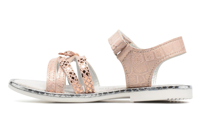 Sandales et nu-pieds Bopy Enzaco Rose vue face