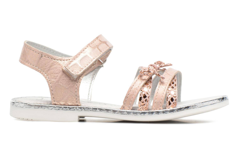 Sandales et nu-pieds Bopy Enzaco Rose vue derrière