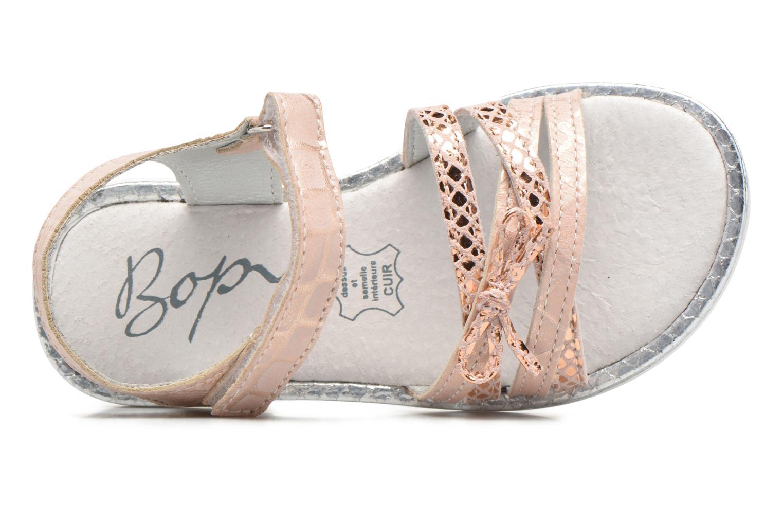 Sandales et nu-pieds Bopy Enzaco Rose vue gauche