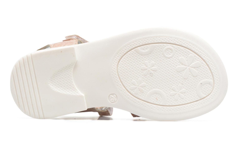 Sandales et nu-pieds Bopy Enzaco Rose vue haut