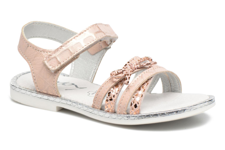 Sandales et nu-pieds Bopy Enzaco Rose vue détail/paire