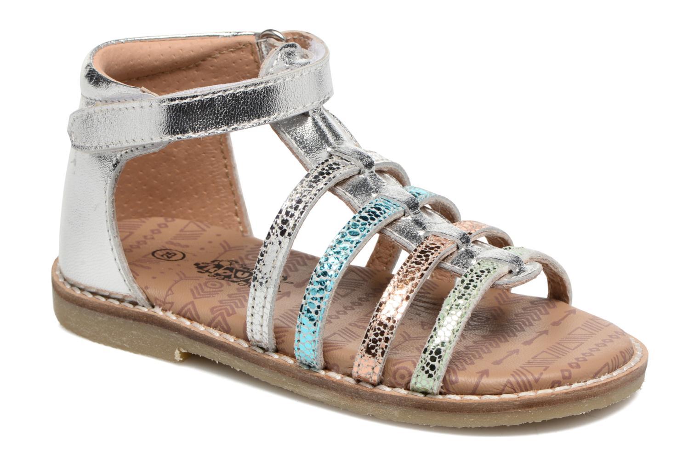 Sandales et nu-pieds Bopy Haya Kouki Multicolore vue détail/paire