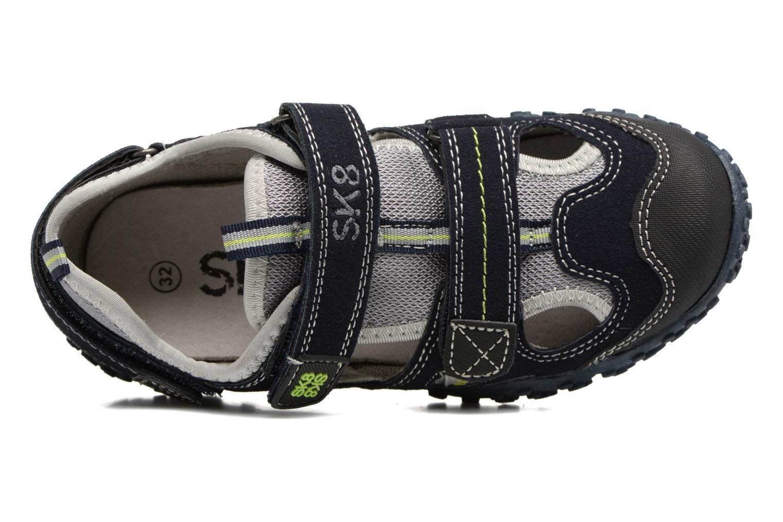 Sandales et nu-pieds Bopy Tomic Bleu vue gauche
