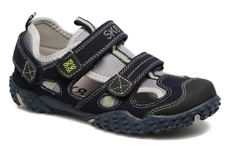 Sandales et nu-pieds Bopy Tomic Bleu vue détail/paire