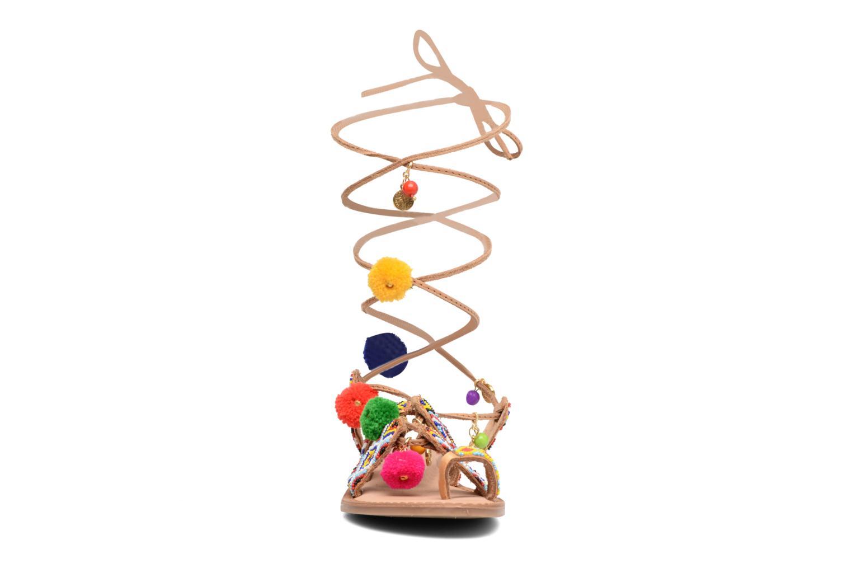Sandales et nu-pieds Gioseppo Amuleto Multicolore vue portées chaussures