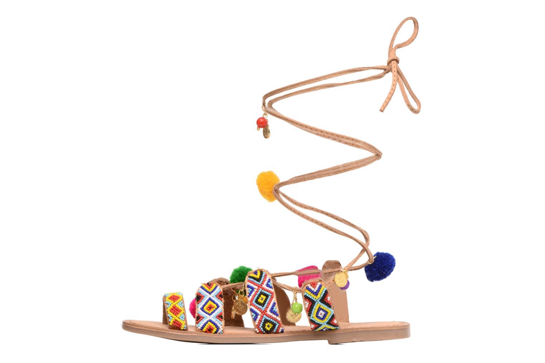 Sandales et nu-pieds Gioseppo Amuleto Multicolore vue face