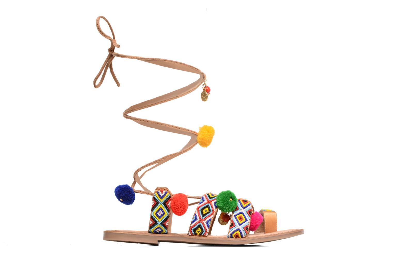 Sandales et nu-pieds Gioseppo Amuleto Multicolore vue derrière