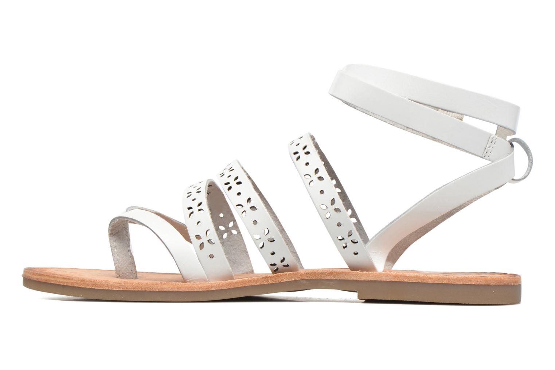 Sandales et nu-pieds Gioseppo Estelar Blanc vue face