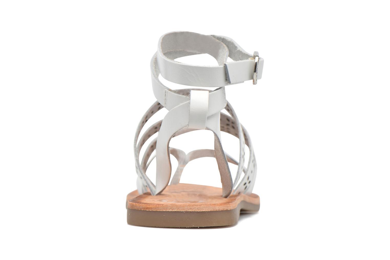 Sandales et nu-pieds Gioseppo Estelar Blanc vue droite