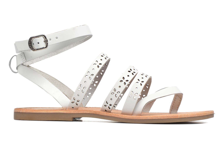 Sandales et nu-pieds Gioseppo Estelar Blanc vue derrière