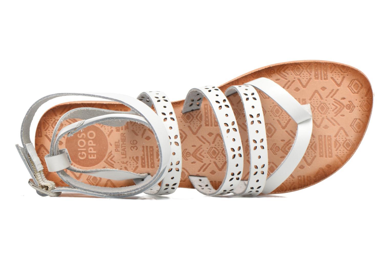 Sandales et nu-pieds Gioseppo Estelar Blanc vue gauche