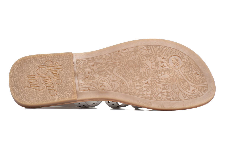 Sandales et nu-pieds Gioseppo Estelar Blanc vue haut