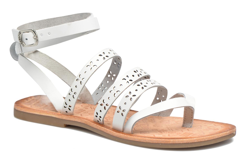 Sandales et nu-pieds Gioseppo Estelar Blanc vue détail/paire