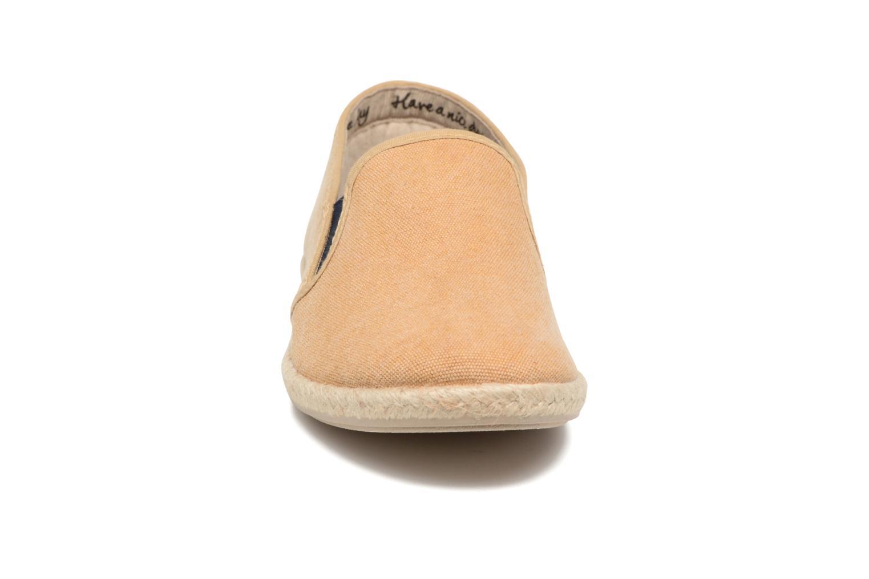 Espadrilles Gioseppo Tenachi Marron vue portées chaussures