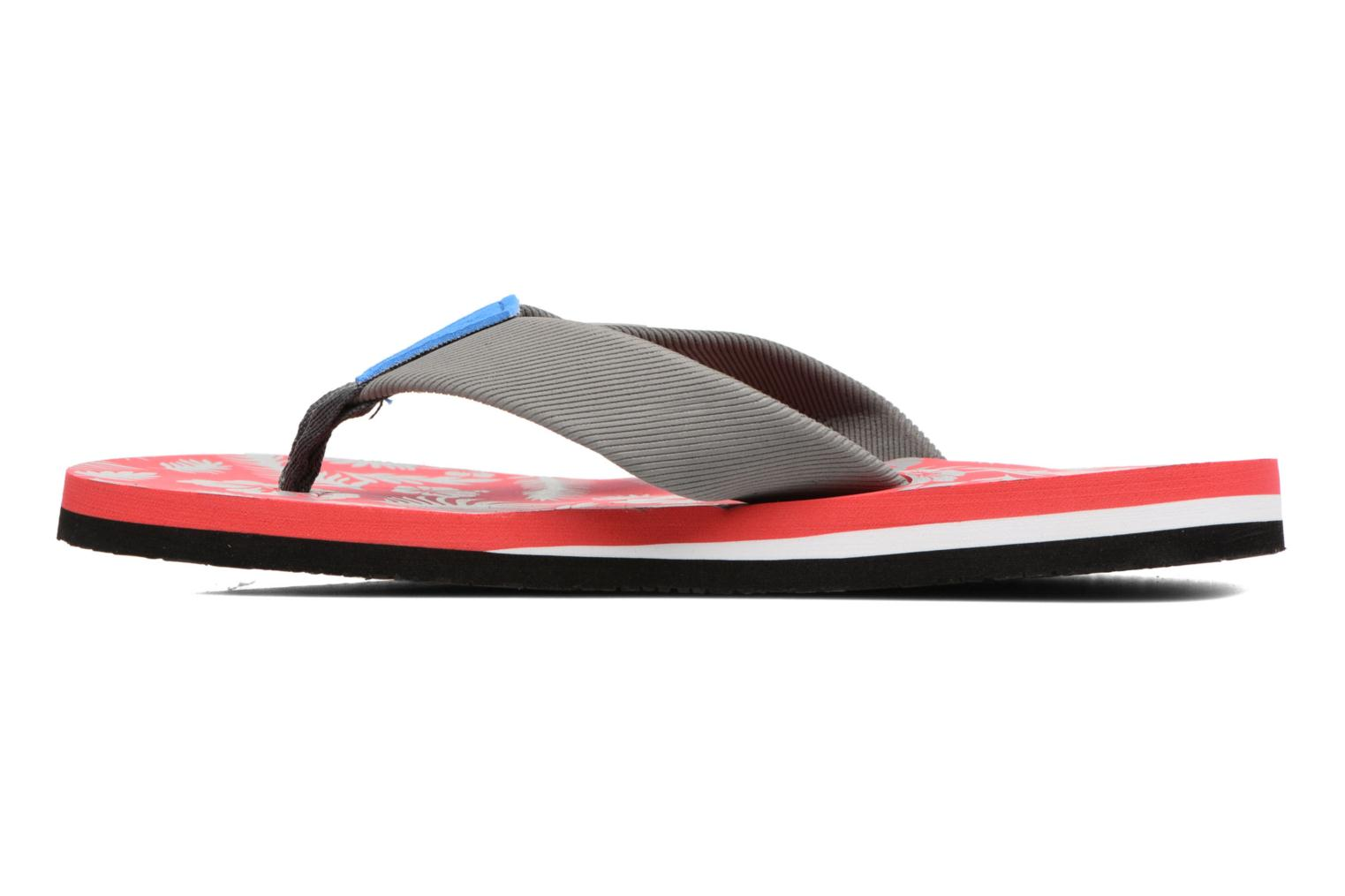 Tongs Gioseppo Racel Rouge vue face