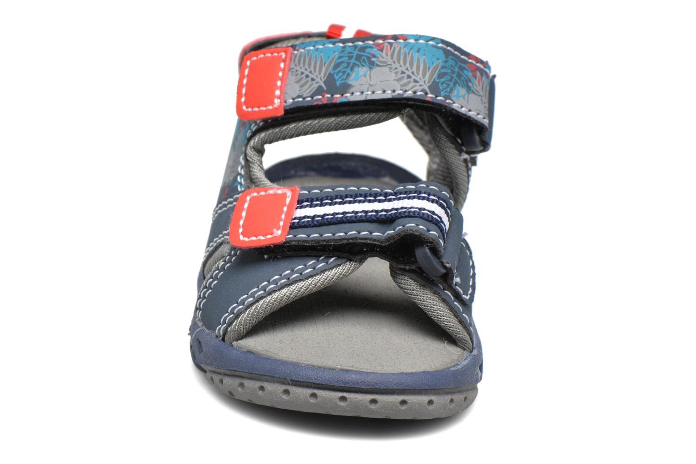 Sandales et nu-pieds Gioseppo Surferos Bleu vue portées chaussures